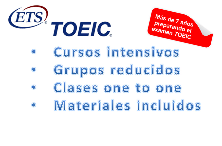 TOEIC listening y Reading en Madrid centro, preparación examen