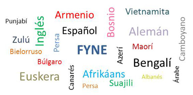 Los idiomas del mundo en inglés